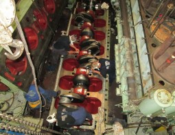 Hanshin 6LH41L Crankshaft Repair Curacao