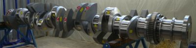 Wartsila 9L32 crankshaft
