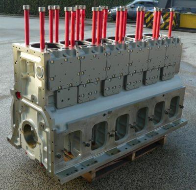 Deutz 6M628 engine block