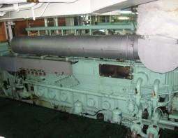 MAN L23/30H 32 Nockenwellenabschnitte erneuern Curacao
