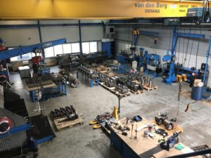 Bengi Workshop repair Wartsila, Mak