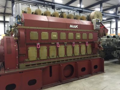 MAK 25 ENGINE