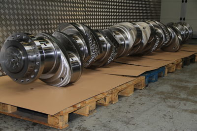 Wartsila 8L32 crankshaft