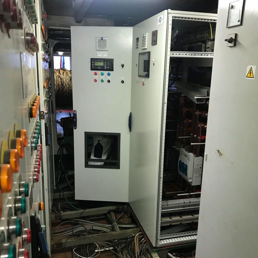 Marine switchboard crop