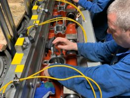 Wartsila 6l32 32 crankshaft repair